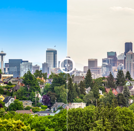 real estate business - photo editing