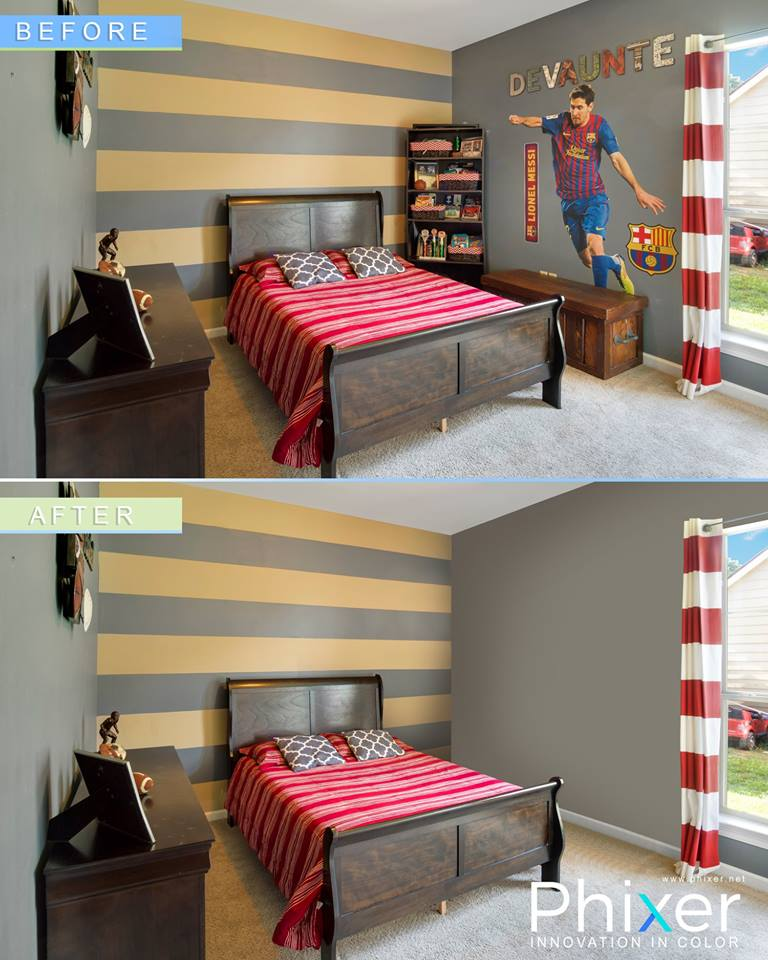 object removal - real estate editing