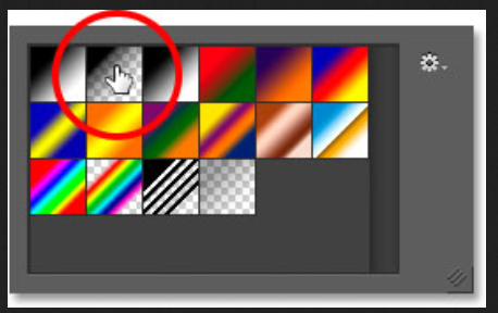 Grab the Gradient Tool photoshop