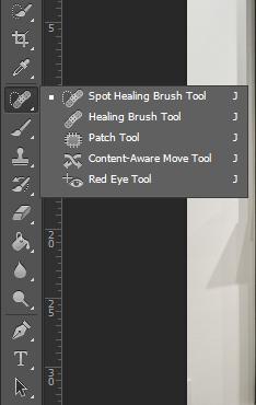 Spot Healing Brush