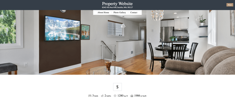 property microsite