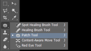 photoshop patch tool